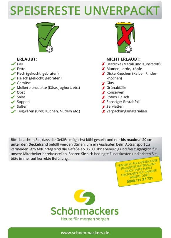 Abfallarten Infos Beratung Und Entsorgungslosungen